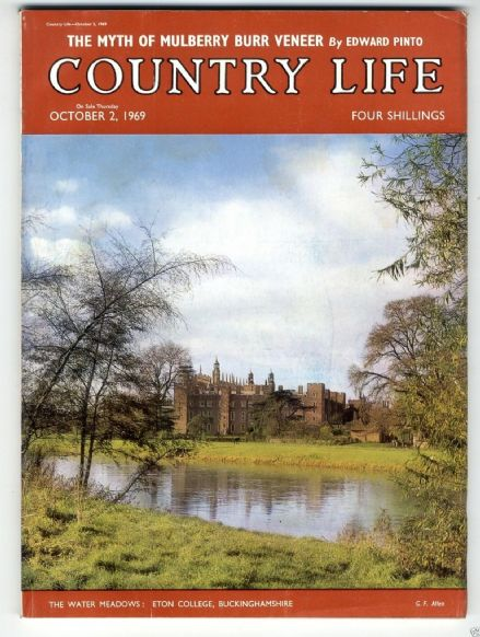 1969 COUNTRY LIFE Magazine ST KILDA Mary Sue Coleman Darbyshire LOSELEY PARK (7873)